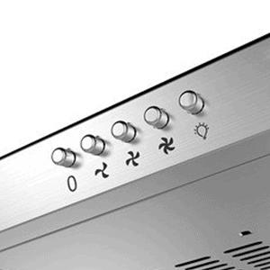 campana extractora ciarra cbcs6903 con tres botones de velocidad