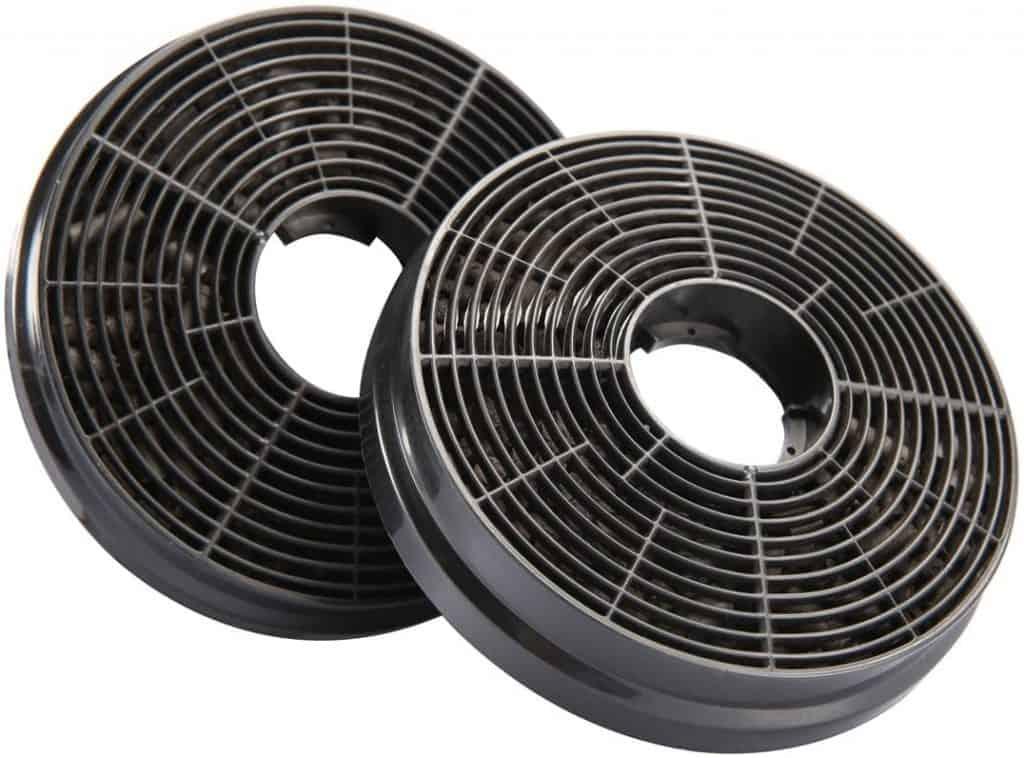 filtros de carbón activo o activado para campanas extractoras recirculacion