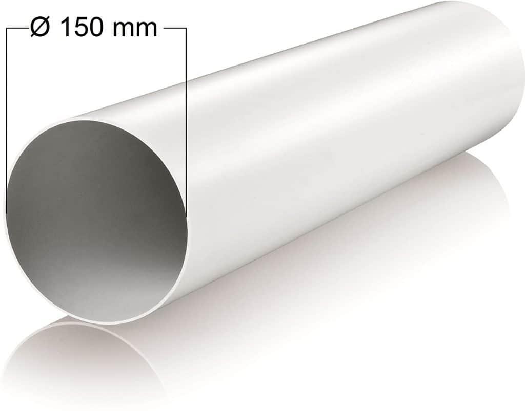 tubo rígido extracción aire campana extractora